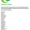 Contemporary Colorado inaugural exhibition Curfman Gallery, 50 works over 30 of Colorado's top artists, Lisa Cameron Russell, exhibition juried by MCA Denver's Nora Burnett Abrams.