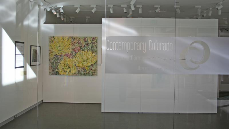 Contemporary Colorado, inaugural exhibition, Curfman Gallery, 30 Colorado's top artists, Lisa Cameron Russell, exhibition  juried by MCA Denver Nora Burnett Abrams, Lisa Cameron Russell