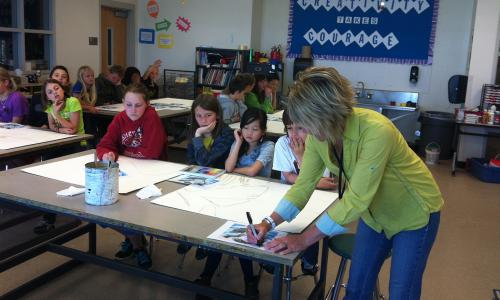 Eldora k-8, Alliance Student Art Projects, Aurora Colorado, Louisville, Broomfield and Highlands Ranch