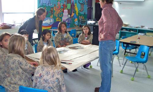 Garfield Elementary, Loveland Colorado Carear Days, Lisa Cameron Russell